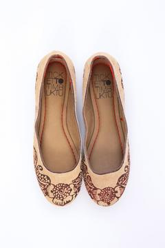 Ticket TO Timbuktu Leather Handcrafted Flats - Alternate List Image