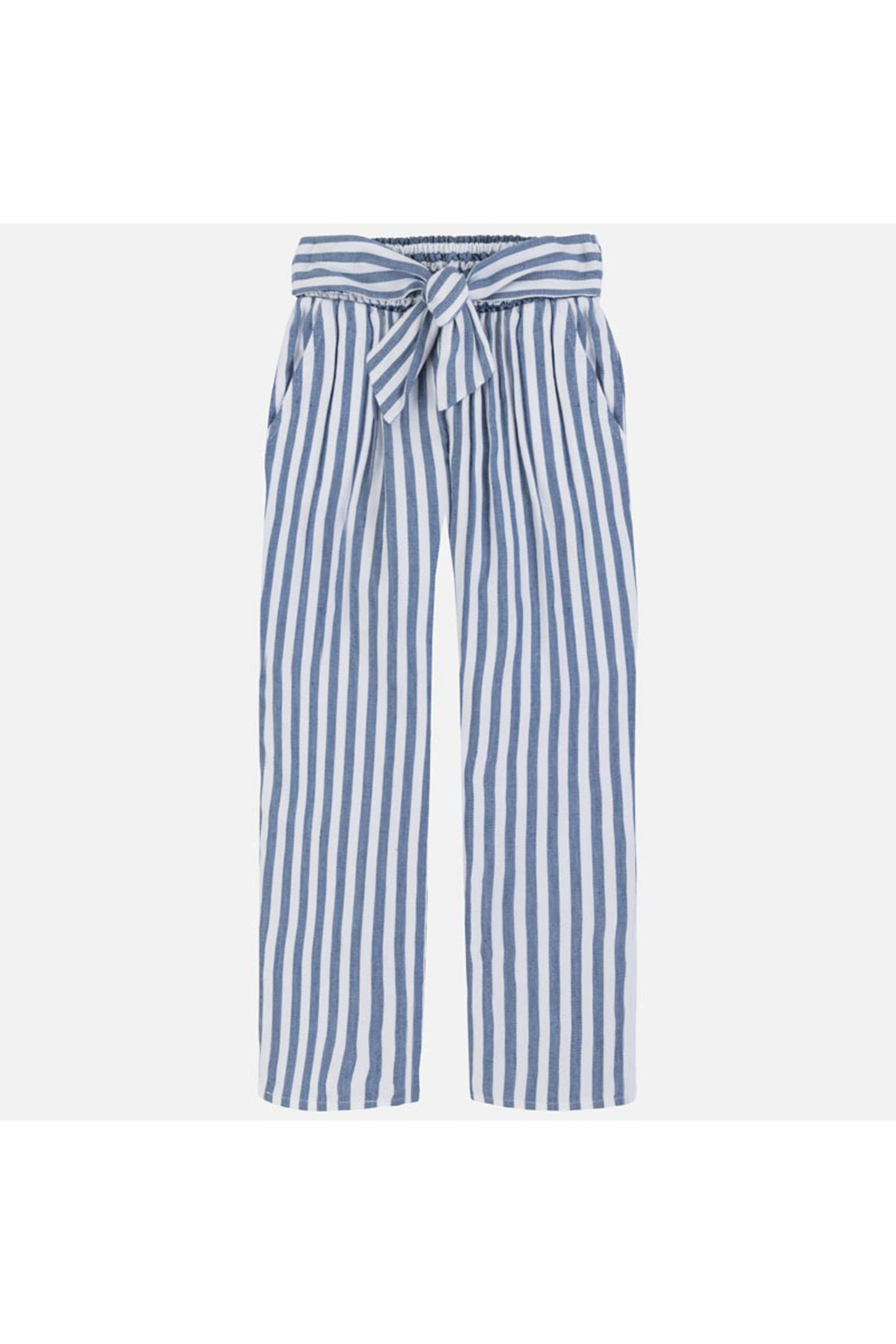 Mayoral Ticking Pants - Front Full Image