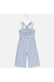 Mayoral Ticking Romper - Front full body