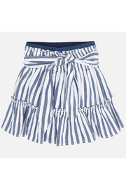 Mayoral Ticking Skirt - Front cropped