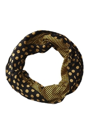 Tickled Pink Dots Stripes Scarf - Product Mini Image