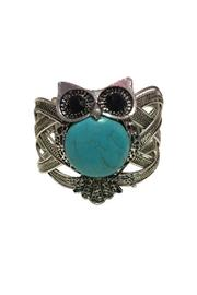 Tickled Pink Turquoise Tibet Silver Turquoise Silver Cuff - Product Mini Image