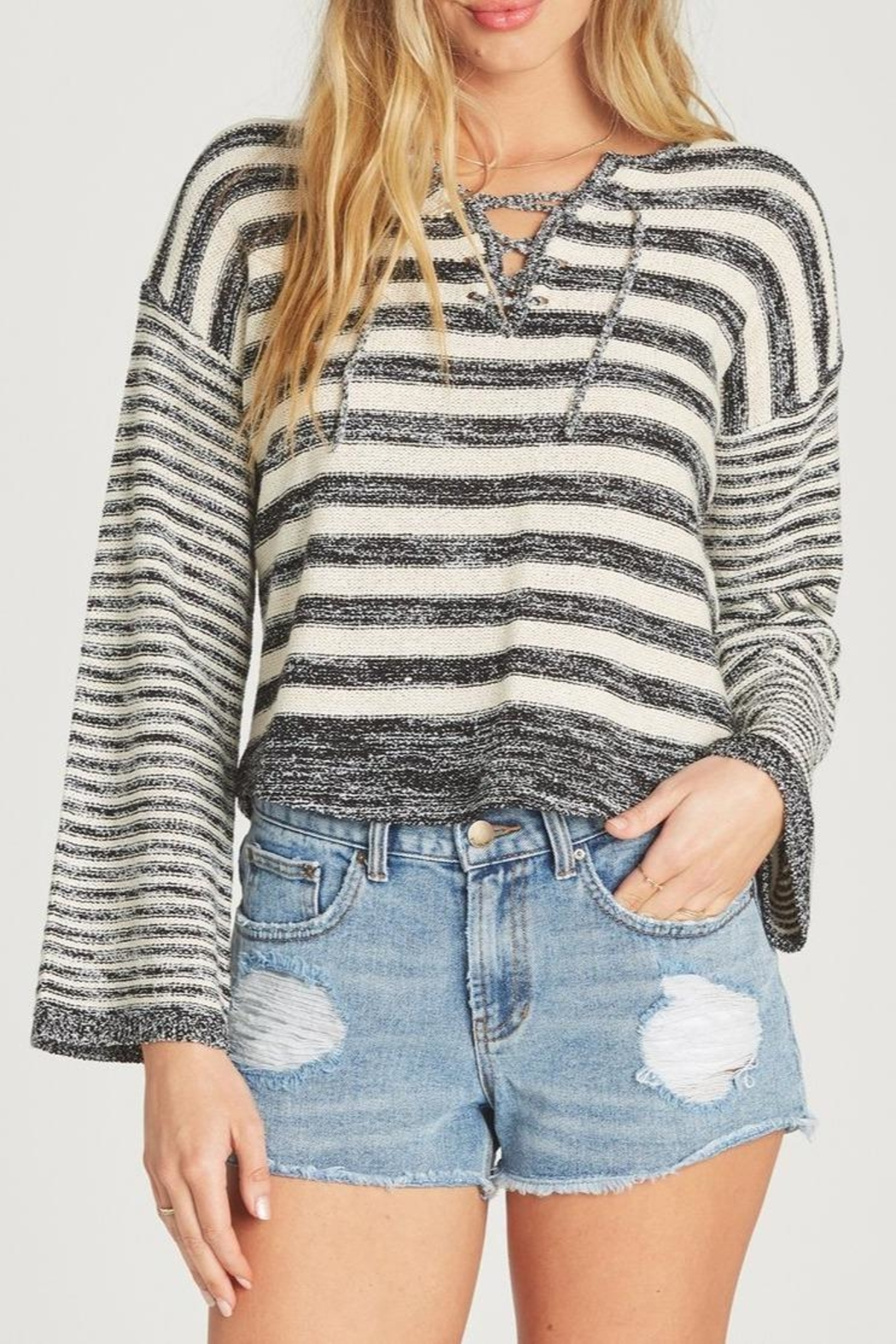 Billabong Tidal Vibes Sweater - Front Cropped Image