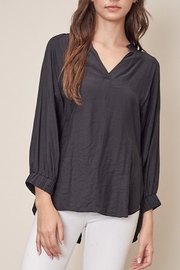 Mustard Seed  Tie Back Blouse - Product Mini Image