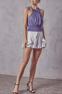 Do + Be  Tie Back Halter Top - Product List Image