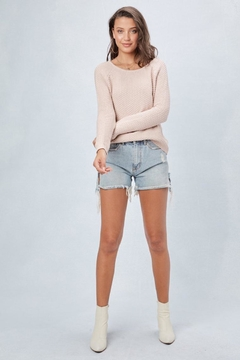 Lovestitch Tie-Back Pullover Sweater - Product List Image