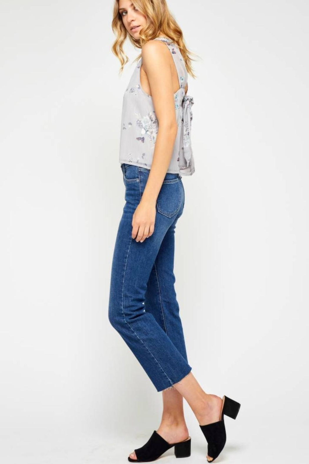 Gentle Fawn Tie Back Tank - Side Cropped Image