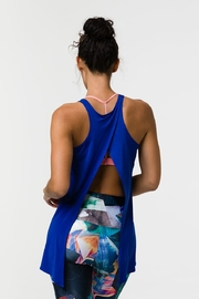Onzie Tie Back Tank Top - Royal Blue - Other