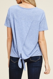 Papermoon Tie Back Tee - Front full body
