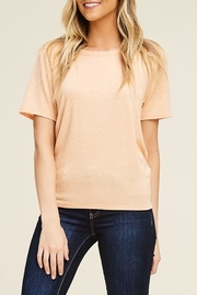 Papermoon Tie Back Tee - Front cropped
