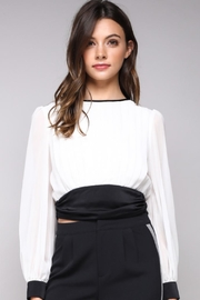 Do & Be Tie-Back Waist Blouse - Product Mini Image