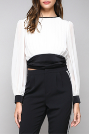 Do & Be Tie back waist blouse - Product Mini Image