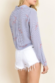 dress forum Tie Bottom Blouse - Side cropped