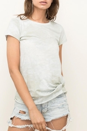 Hem & Thread Tie Bottom Tee - Product Mini Image