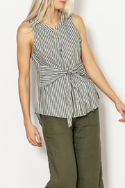 Sanctuary Tie Craft Top - Front cropped