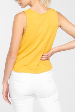 Everly Tie Cropped Top - Alternate List Image