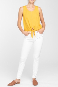 Everly Tie Cropped Top - Product List Image