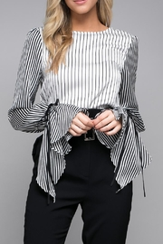 Do & Be Tie Cuff Blouse - Product Mini Image