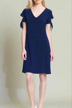 Clara Sunwoo Tie-Cuff Cap-Sleeve Dress - Alternate List Image