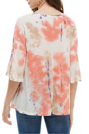 T-Party  Tie Dye Top - Front full body