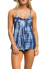 Anama Tie-Dye Cage-Back Romper - Product Mini Image