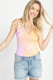 Fore Collection Tie Dye Candy Bodysuit - Product Mini Image