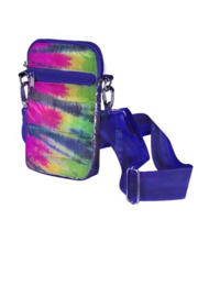 Top Trenz Tie Dye Cell Phone Cross Body - Product Mini Image