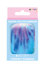 Isceam Tie Dye Compact Ear Buds - Back cropped