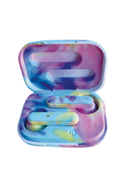 Isceam Tie Dye Compact Ear Buds - Product Mini Image