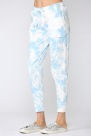Fate Inc. Tie Dye Cotton Jogger Pants - Front full body