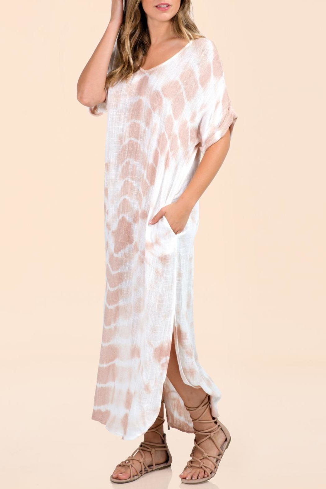 Elan Tie Dye Coverup - Front Cropped Image