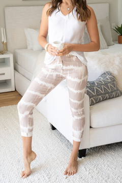 Venti 6 Tie Dye Crinkle Jogger - Product List Image