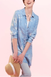 Charlie Paige Tie-Dye Denim Tunic - Product Mini Image
