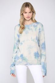 Fate Inc. Tie Dye Distressed Sweater - Product Mini Image