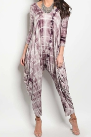 Degree Tie-Dye Drape Jumpsuit - Front cropped