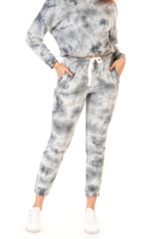 Dex Tie Dye Drawstring Jogger - Front cropped