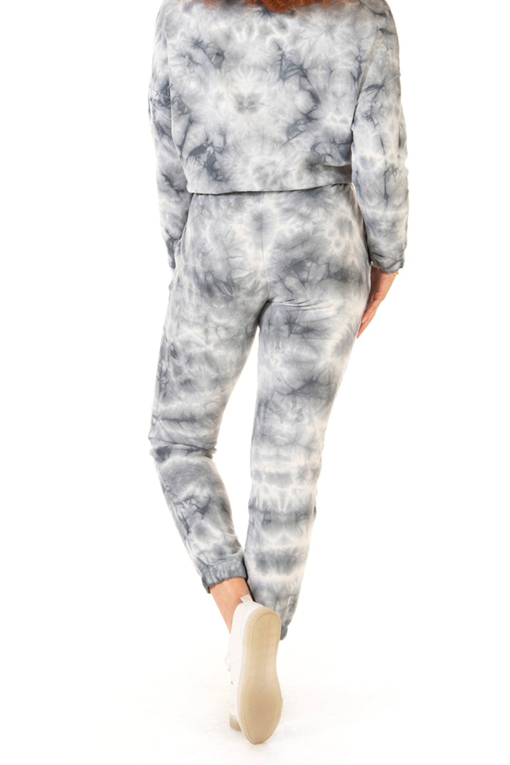 Dex Tie Dye Drawstring Jogger - Side Cropped Image