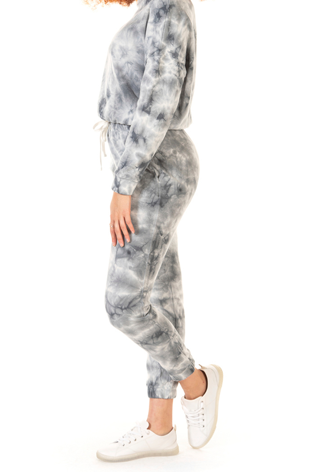 Dex Tie Dye Drawstring Jogger - Front Full Image