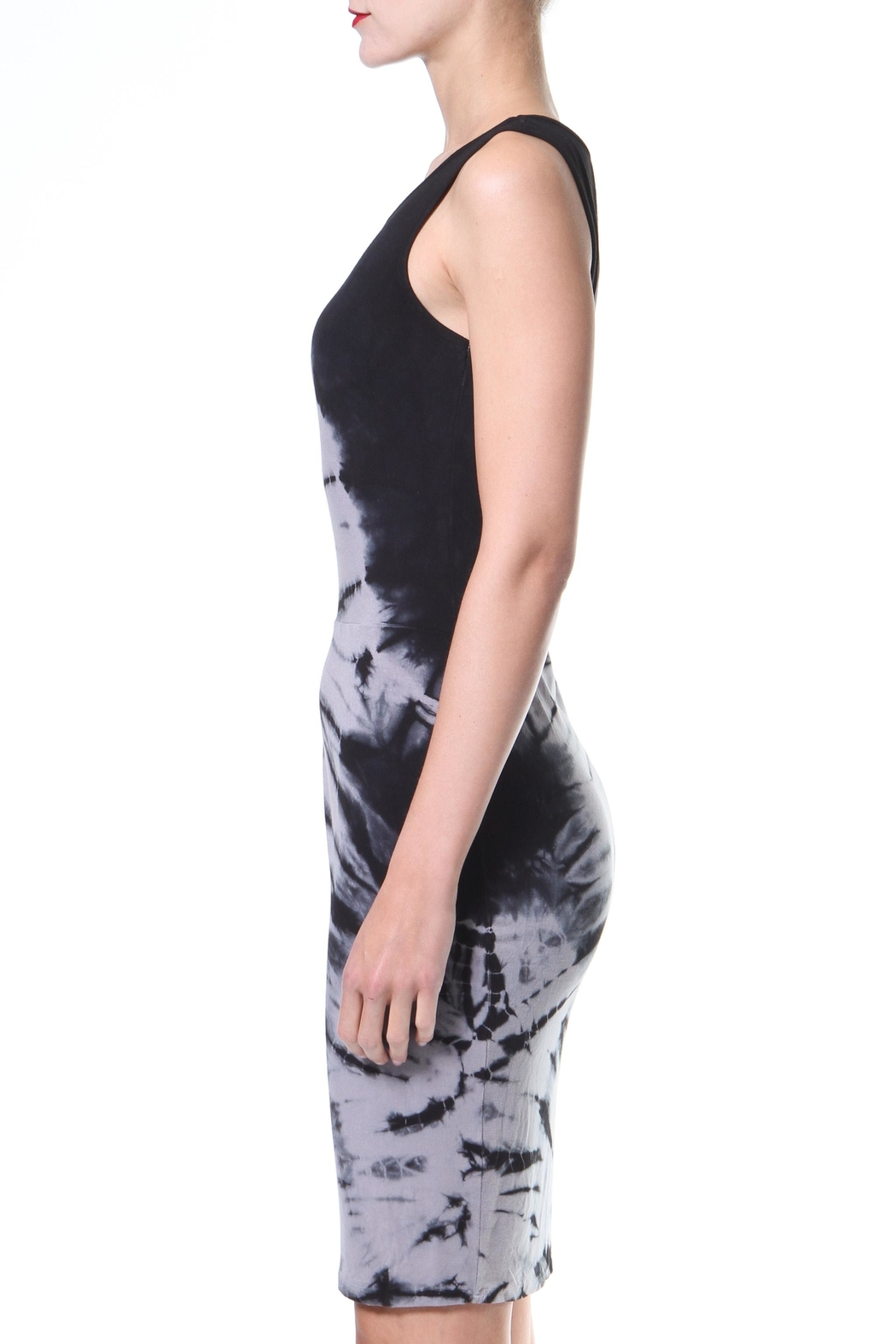 Madonna & Co Tie-Dye Dress - Front Full Image