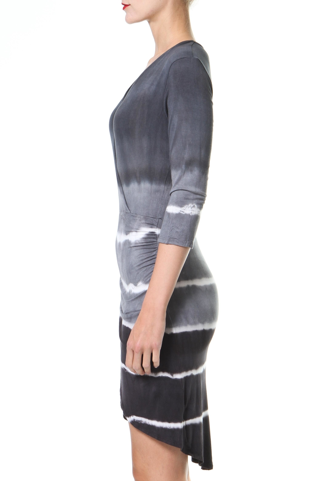 Madonna & Co Tie Dye Dress - Front Full Image