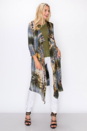 Coin 1804 Tie Dye Duster - Front cropped