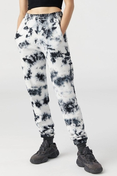 Joah Brown Tie-Dye Empire Jogger - Product List Image