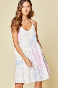 Andree by Unit Tie-Dye Eyelet Mini - Product List Image