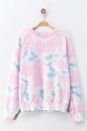 Trend Notes  Tie Dye Fleece Pullover - Product Mini Image