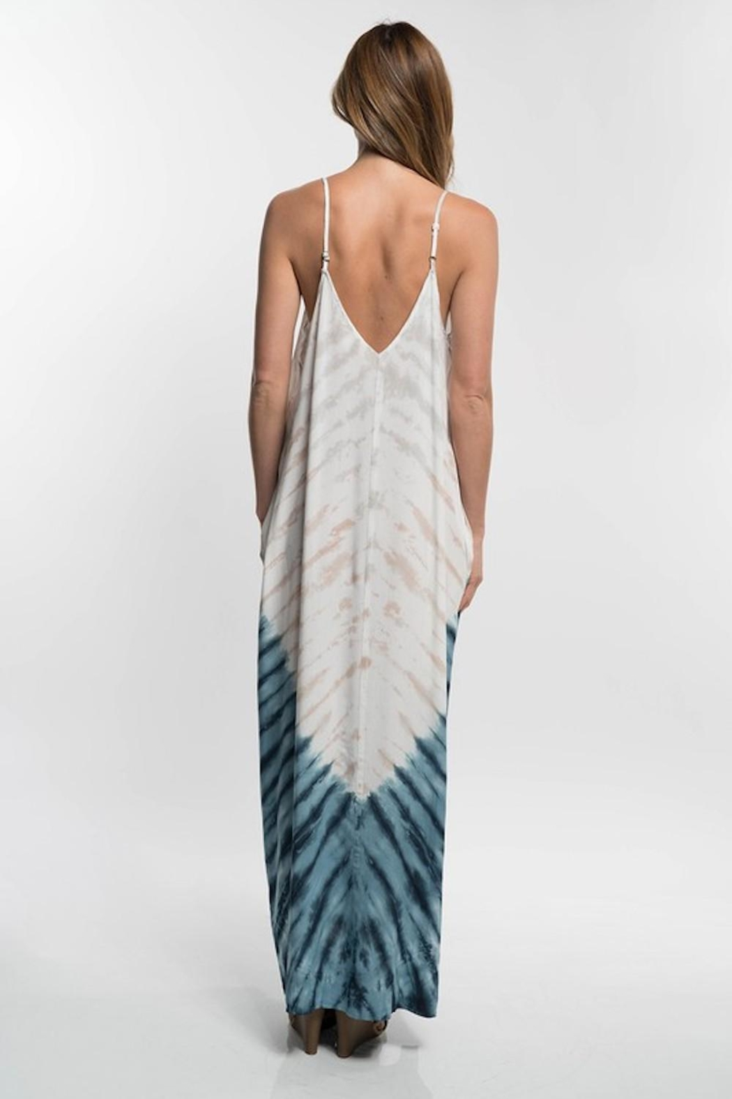Lovestitch Tie-Dye For Maxi - Back Cropped Image