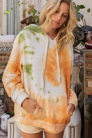 POL  Tie Dye French Terry Hoodie - Product Mini Image
