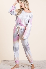 Bibi Tie Dye French Terry Set - Product Mini Image