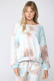 Fate Inc. Tie Dye French Terry Sweatshirt - Front cropped