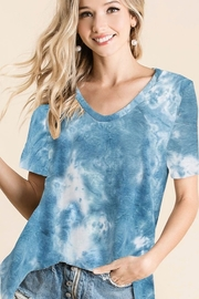 Bibi Tie Dye French Terry Top - Product Mini Image