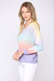 Fate  Tie-Dye Gradient Sweater - Back cropped